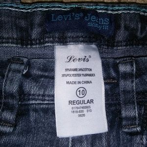 Levi girl jeans